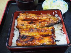 成田のい志ばしに鰻を食べにいきました