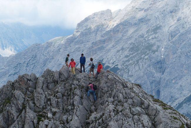 何で私がハイキング? 2016年 オーストリア・スイスハイキング 2-インスブルック