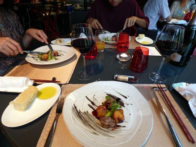 お盆休みの紀伊半島7泊旅行の夕食はこの日が最後。<br /><br />そこで、中国料理 翆陽と肩を並べるほど気に入っている、イタリア料理トラットリア ジョバーノでプレミアム・スモールポーションの夕食を予約しました。<br />