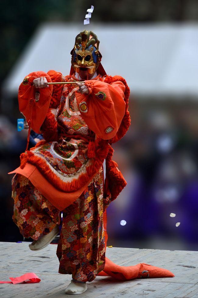 毎年2月13日に行われる疫病災禍を祓い鎮める鎮疫祭です。