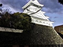2017年12月 福岡県・小倉 小倉城とその周辺のクリスマスイルミネーション