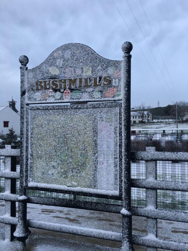 年明けに休みを3日間もらえたので一度行ってみたかった北アイルランドへダブリンから。<br />悪天候が予想されたため1日を予備日として1泊2日の旅程でした。