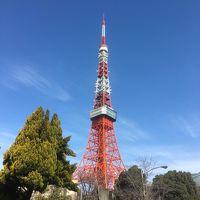 2018年2月 東京散策� 東京タワーに行ってみよう