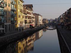 イタリア 冬の旅 14日目 (ミラノ散策:ナヴィリオ地区、ブレラ絵画館、ショッピング)