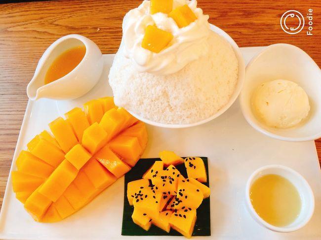 バンコクでエグゼクティブルームに泊まる&食べ歩き&街歩き(7)「マンゴーカフェ・ワットアルン」