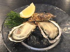 旬の牡蠣と穴子を堪能