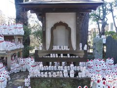 豪徳寺の招き猫_2018_思っていた程には広くないところに纏まっていました。(世田谷区・豪徳寺)