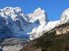 団塊夫婦のスキー&絶景の旅・2018初―(3)サン・ローレンツォ・モルヴェーノ湖を経てアンダーロへ