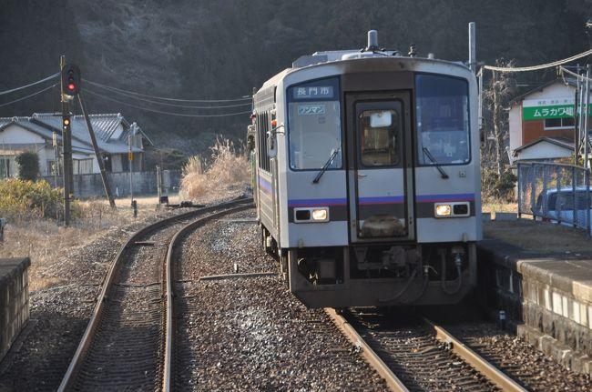 2018年2月おとなびパスの旅9(美祢線後篇)