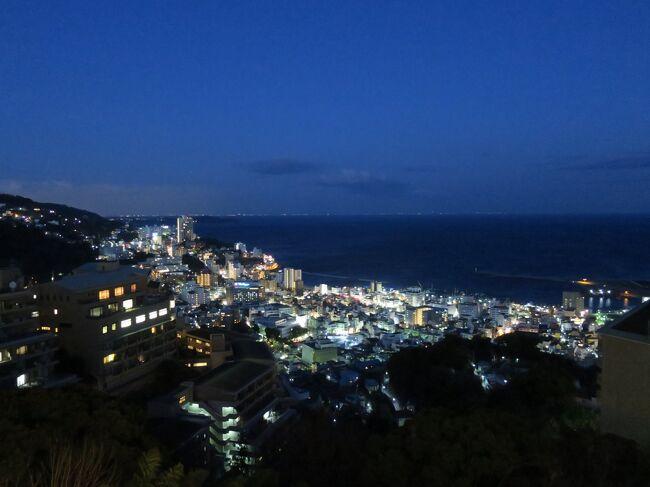一時帰国で京都・奈良を観光した後、北海道から呼んだ父と熱海で合流。タクシーで手早く市内を観光。翌日は東京へ向かい、羽田空港のJAL機体整備場見学へ。