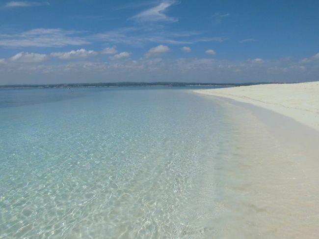 かなり前の旅行記で街から気軽に行ける無人島、BONGOYO島をご紹介しましたが。<br />(こちらをご参照くださいhttps://4travel.jp/travelogue/11113994)<br />その北側にもう一つ気軽に行ける、MBUDYA島という島があります。<br />今回はこちらの島をご紹介いたします。<br />感想からいうと、BONGOYO島よりもMBUDYA島の方がビーチが広く、また雰囲気も込み合った感じがしないので<br />快適でした!!<br />KUNDUCHIという街の近くにある、WARTER WOLDというところから随時船が出ています。<br />料金は船代10000TzS(約500円)/一人<br />海洋保護区入域料36500TzS(約1700円)/一人<br />で上陸できます。<br />上陸後、昼食のオーダーが可能です。飲み物はバーがあり、ビールやソフトドリンクも購入可能です。<br />水着も売っているので(サイズにバラつきあり)、究極手ぶらで大丈夫です!!