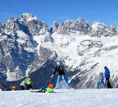 団塊夫婦のスキー&絶景の旅・2018イタリア―(4)ブレンタ・ドロミテの眺望抜群のスキーリゾート・アンダーロ