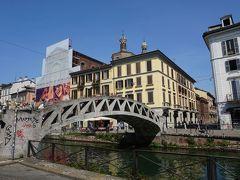 イタリア三都市 + イストラ半島ドライブ #23 : ミラノの下町 ナヴィリオ地区