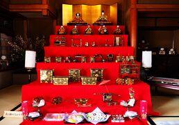 Japan 津雲邸のお雛さま(2/3) 2階の大広間のお雛さま