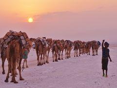 ダナキル砂漠と北エチオピアを訪ねる・・・・・メケレとアサレ塩湖