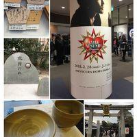 話題の京都パワースポットと陶芸体験&京セラドームでのコンサート♪