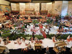 2018年2月 福岡 その2 飯塚の麻生「大浦荘」へひな人形を見に行きました。