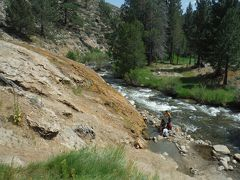 キャンプしに、はるばるオレゴン、カリフォルニア Day10-3(近くて遠い、Buckeye Hot Springを探せ~♪)
