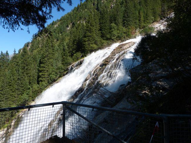 バックパッカーハイキングー2 2017年 ドイツ・オーストリア・イタリアドロミテ 8-2 トップオブチロル・ペールヨッホ・シュルゼナウヒュッテ・グラバ滝