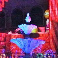 蒲郡-7 ラグナシアf  「ネージュ」360°3Dマッピング ☆噴水塔のある広場で