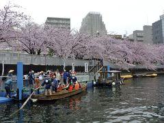 不良夫婦 船で揺られて桜遊覧