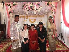 現代カンボジア人の結婚式参列 結婚式&アンコールワットグルメツアーその2