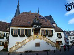 2010年ドイツの秋:③プファルツのバルコニーと称される一帯は美しい秋だ。
