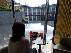 09.イタリアンを楽しむエクシブ湯河原離宮1泊 だるま滝 ロビーラウンジの喫茶 お部屋で温泉