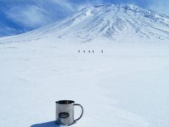 大雪山旭岳姿見駅からスノーシュー2日目