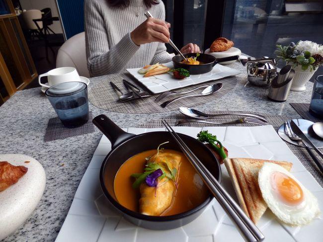 今回のテーマはイタリアンを楽しむことです。<br /><br />そこで前日の昼・夕食に続き、この日の朝食もイタリア料理 マレッタで楽しもうと、朝のレストランを訪ねます。<br />