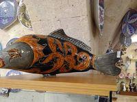 トルコ・キュタフヤ陶器はカラフルな色彩と絵柄が素晴らしい