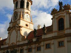 チェコ プラハ ロレッタ教会からプラハ城