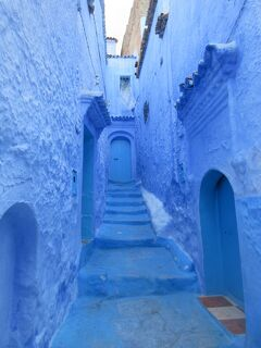 エキゾチックで神秘的な青い街シャウエン モロッコの旅
