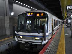 2018年3月青春18きっぷの旅2(山陰本線京都駅から福知山駅へ)