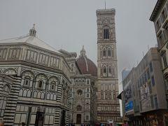 フィレンツェの街歩きはドゥオーモ周辺から。