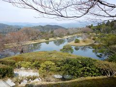 2017年 京都 4月5日 その3 修学院離宮の見学 後篇 上御茶屋 浴竜池