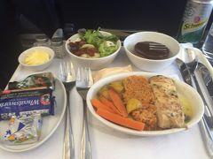 機内食 大好きです