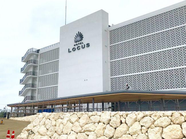 宮古島HOTEL LOCUS プレオープン初日泊。。☆2018初旅へ