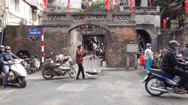 ハノイから陸路中国の雲南省へ 2 ハノイ旧市街