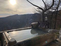 黒班山でスノーハイクと高峰温泉