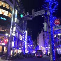 渋谷のイルミネーション(2017年12月)