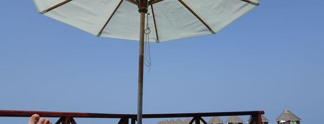 青い海、青い空ここはモルディブ