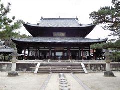 2017年京都 4月6日 その5 京都定期観光バスで萬福寺に行き普茶を頂きました。中国風のお寺。