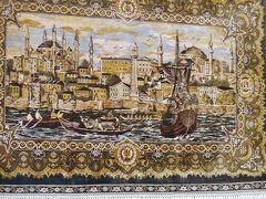 トルコ観光に組み込まれた絨毯工場見学