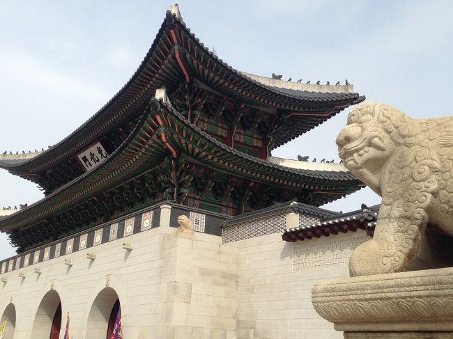 朝から晩までソウルを楽しみました!