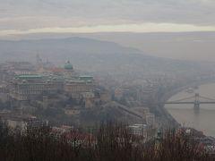 2018新春3泊4日ブダペスト旅行 4日目 薄暗い靄の中のブダペスト
