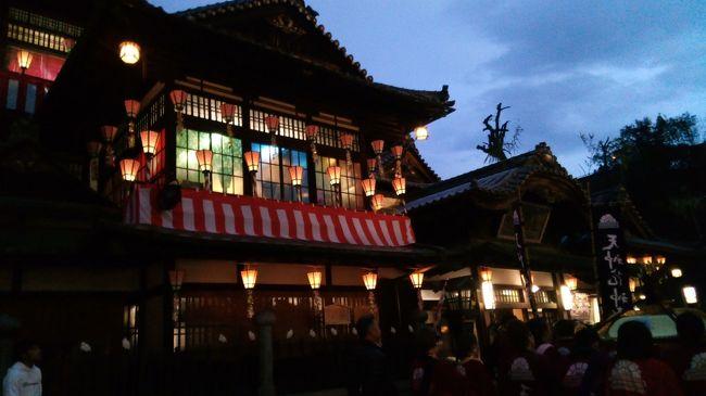 鳥取の娘から女子に人気の松山に行ってきました。<br />テレビを見ていて、楽しそうだったし、<br />夜の道後温泉に行きたかったので、初日は一人で周り、<br />次の日からは、四国の友達と一緒に散策しましたよ。