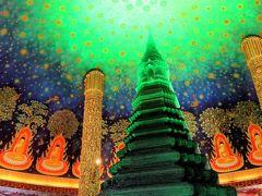 プラネタリウムのようなお寺見学して、日本に帰国します