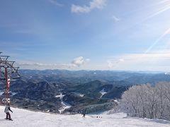 2017-2018 シーズン スキーの記録