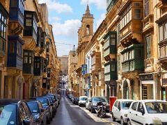 地中海浮かぶ小国【マルタ】青い海と気ままな街歩き 3泊6日(1・2日目)